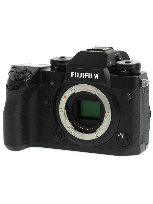【FUJIFILM】富士フイルム『X-H1』2430万画素 APS-C SDXC 4K動画 ミラーレス一眼カメラ 1週間保証【中古】b06e/h18AB