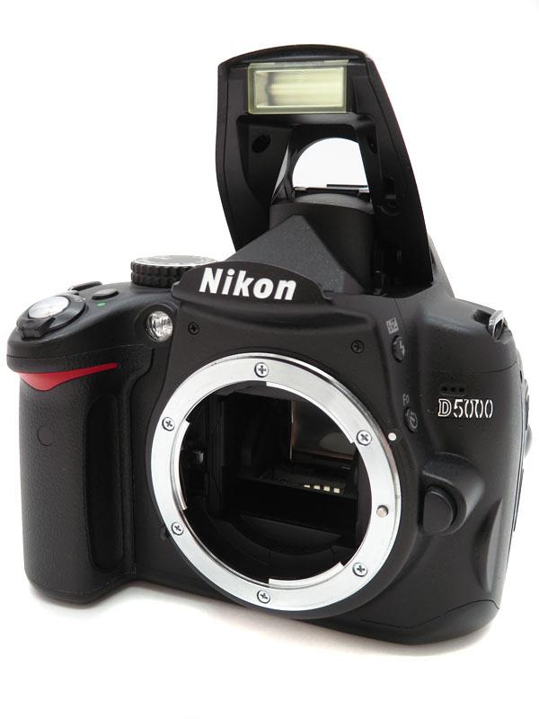 【Nikon】ニコン『D5000 ボディニコンFマウント APS-C』デジタル一眼レフカメラ 1週間保証【中古】b03e/h20AB