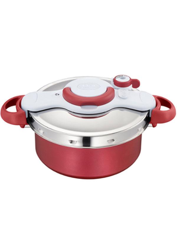 【ティファール】『クリプソ ミニット デュオ 5.2L 』P4605136 圧力鍋 1週間保証【新品】b00e/b00N
