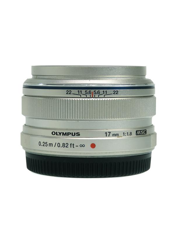 【OLYMPUS】オリンパス『M.ZUIKO DIGITAL 17mm F1.8』2012年モデル デジタルミラーレスカメラ用レンズ 1週間保証【中古】b03e/h04AB