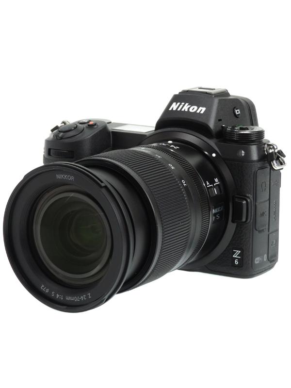 【Nikon】ニコン『Z6 24-70 レンズキット』2450万画素 FXフォーマット XQD/CFexpressTypeB 4K動画 ミラーレス一眼カメラ 1週間保証【中古】b03e/h20SA