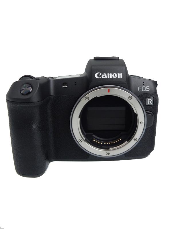 【Canon】キヤノン『EOS R ボディ』2018年式 3030万画素 4K RFマウント ミラーレス一眼カメラ 1週間保証【中古】b05e/h22AB