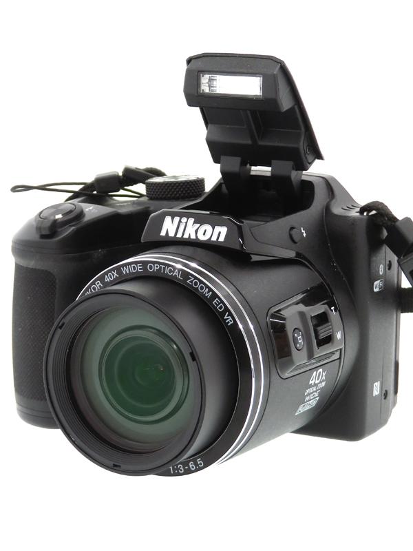 【Nikon】ニコン『COOLPIX B500』B500BK ブラック 1602万画素 光学40倍 SDXC フルHD動画 コンパクトデジタルカメラ 1週間保証【中古】b03e/h14B