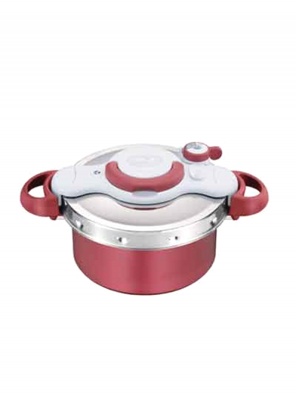 【ティファール】ノーブランド『クリプソ ミニット デュオ レッド 4.2L』P4604236 圧力鍋 1週間保証【新品】b00e/b00N