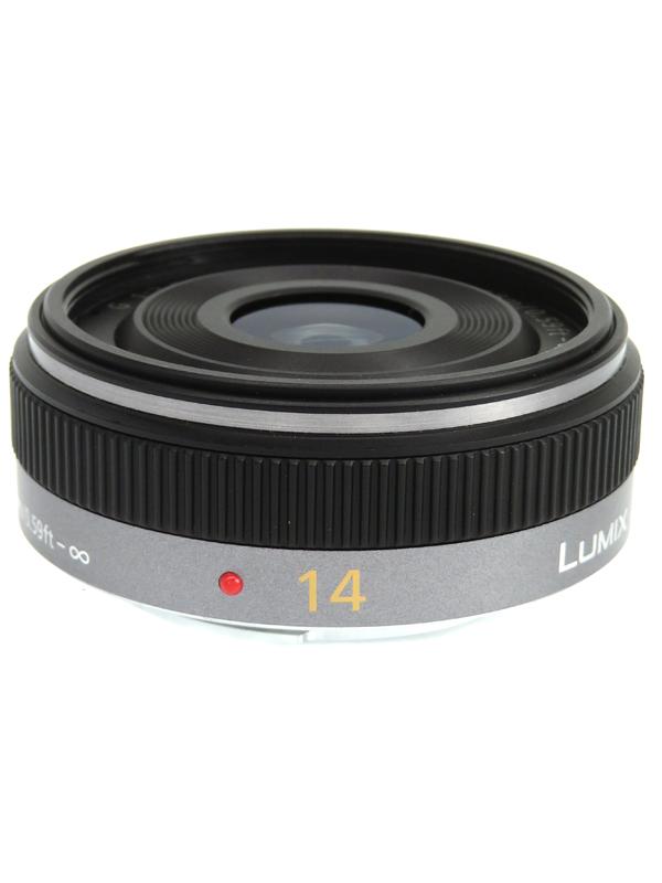 【Panasonic】パナソニック『LUMIX G 14mm/F2.5 ASPH』H-H014 28mm相当 ミラーレス一眼カメラ用レンズ 1週間保証【中古】b05e/h12AB