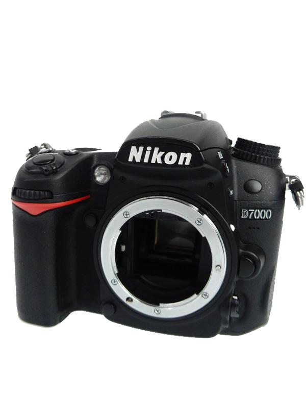 【Nikon】ニコン『D7000 ボディ』DXフォーマット 3インチ 1620万画素 SDXC フルHD動画 デジタル一眼レフカメラ 1週間保証【中古】b05e/h21B