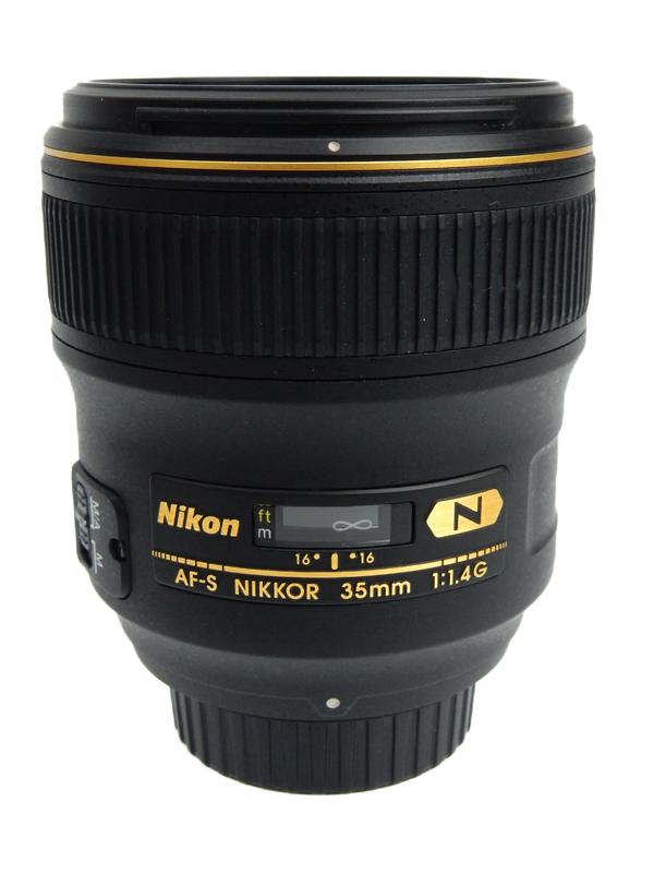 【Nikon】ニコン『AF-S NIKKOR 35mm f/1.4G』ニコンFマウント 風景 夜景 星 大口径広角レンズ 2010年11月発売 レンズ 1週間保証【中古】b06e/h18AB