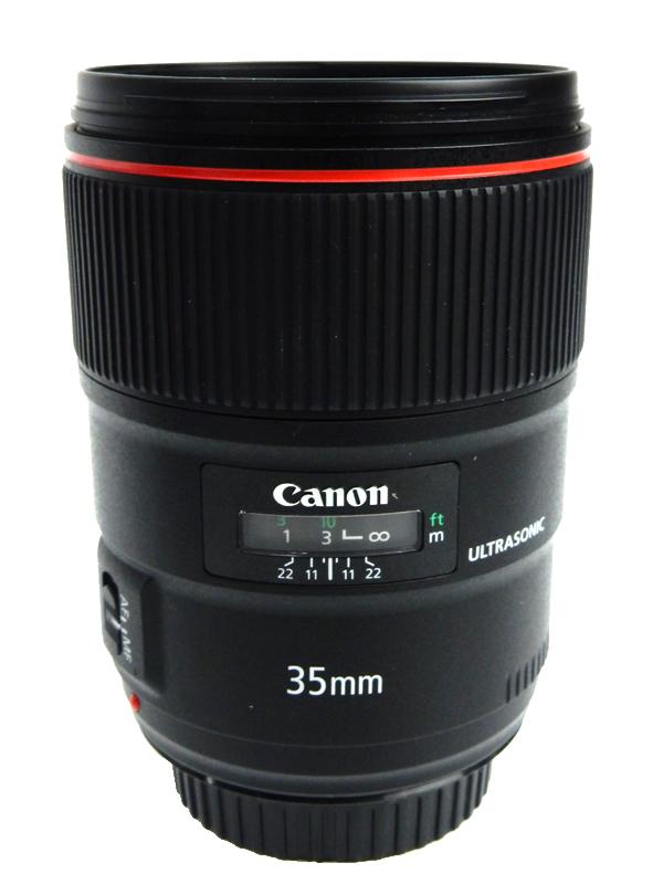 【Canon】キヤノン『EF35mm F1.4L II USM』EF3514L2 大口径広角単焦点レンズ 広角 一眼レフカメラ用レンズ 1週間保証【中古】b06e/h02AB