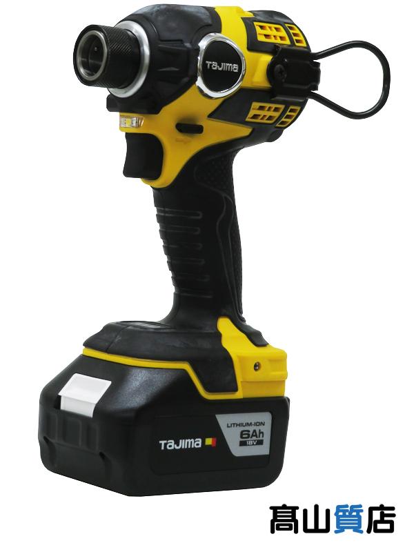 【TAJIMA】タジマ『太軸インパクト F300A 6A SET』PT-F300A6ASET インパクトレンチ 1週間保証【新品】b00t/N