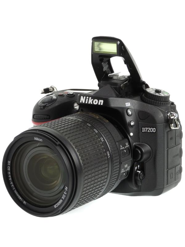 【Nikon】ニコン『D7200 18-140 VR レンズキット』2416万画素 DXフォーマット SDXC フルHD動画 デジタル一眼レフカメラ 1週間保証【中古】b03e/h02B