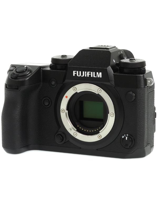 【FUJIFILM】富士フイルム『X-H1』2430万画素 APS-C SDXC 4K動画 ミラーレス一眼カメラ 1週間保証【中古】b03e/h03A