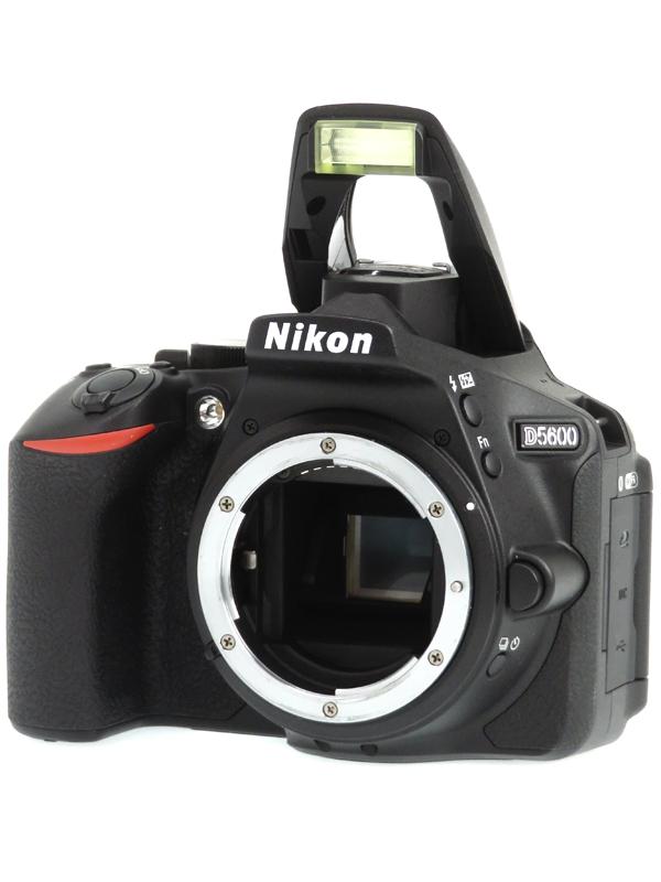 【Nikon】ニコン『D5600ボディ』2416万画素 DXフォーマット SDXC フルHD動画 デジタル一眼レフカメラ 1週間保証【中古】b03e/h03AB