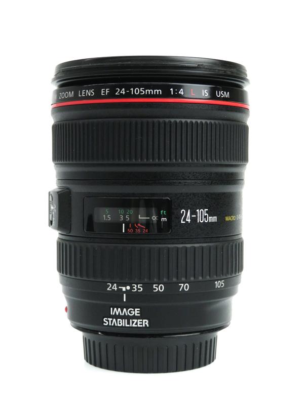 【Canon】キヤノン『EF24-105mm F4L IS USM』EF24-10540LIS 非球面 標準ズーム 一眼レフカメラ用レンズ 1週間保証【中古】b03e/h04AB