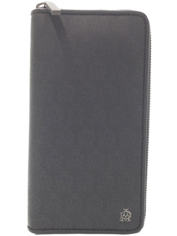 【Dunhill】ダンヒル『ウィンザー ラウンドファスナー長財布』L2B018A メンズ 1週間保証【中古】b06b/h09S
