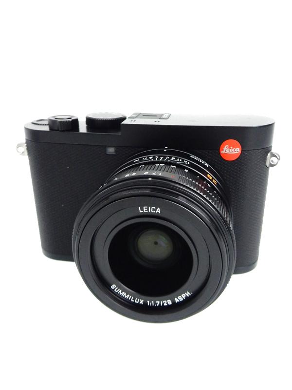 【Leica】ライカ『LEICA Q2』2019年 ブラック Wi-Fi 4730万画素 3インチ 4K動画 デジタルカメラ 1週間保証【中古】b03e/h15AB