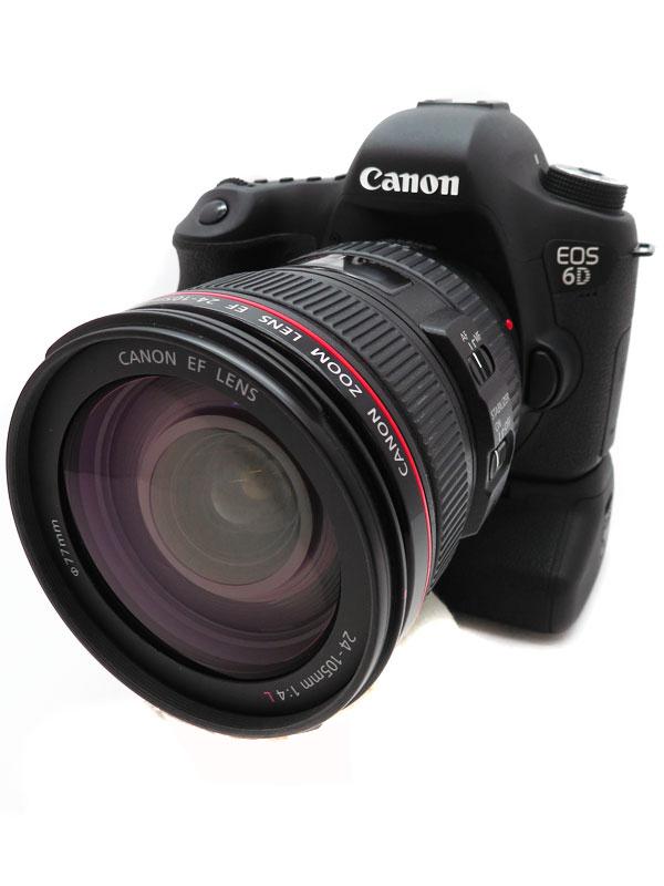 【Canon】キヤノン『EOS 6D EF24-105L IS USMレンズキット』デジタル一眼レフカメラ 1週間保証【中古】b05e/h12B