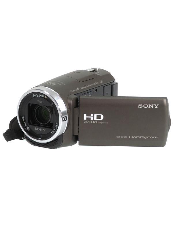 【SONY】ソニー『ハンディカム』HDR-CX680(TI) ブロンズブラウン フルHD 64GB 光学30倍 Wi-Fi NFC デジタルビデオカメラ 1週間保証【中古】b03e/h07SA