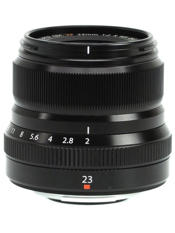 【FUJIFILM】富士フイルム『FUJINON XF23mmF2 R WR』ブラック 35mm相当 ポートレート ミラーレス一眼カメラ用レンズ 1週間保証【中古】b03e/h11AB