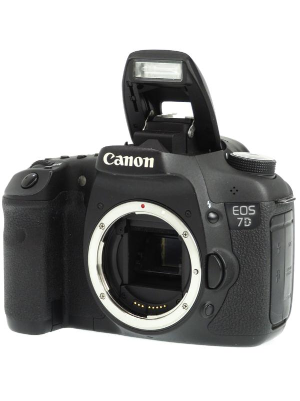【Canon】キヤノン『EOS 7D ボディ』EF-S 1800万画素 CFカード フルHD動画 デジタル一眼レフカメラ 1週間保証【中古】b03e/h14B