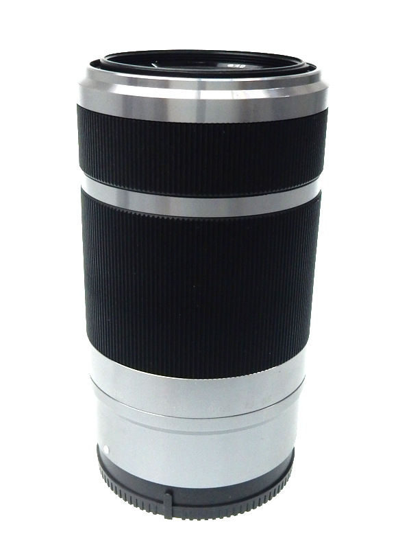 【SONY】ソニー『E55-210mm F4.5-6.3 OSS』SEL55210 Eマウント シルバー APS-C用 光学式手ブレ補正機能 レンズ 1週間保証【中古】b05e/h21B
