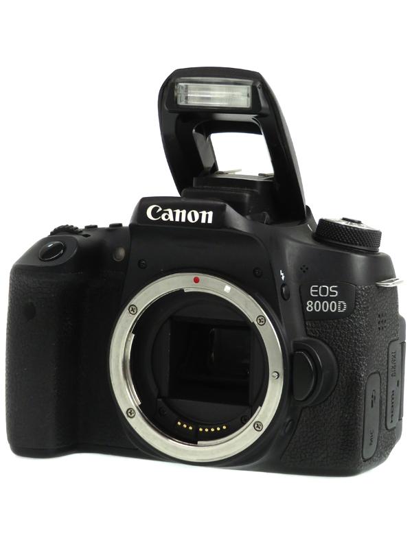 【Canon】キヤノン『EOS 8000D ボディ』2420万画素 EF-S SDXC フルHD動画 デジタル一眼レフカメラ 1週間保証【中古】b03e/h03B
