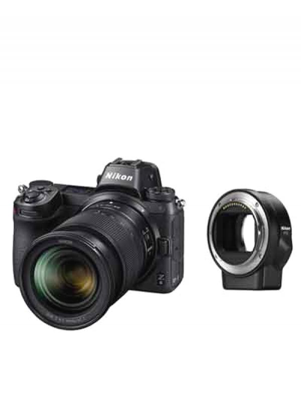 【Nikon】ニコン『Z6 24-70 レンズキット+FTZマウントアダプターキット』 ミラーレス一眼カメラ 1週間保証【中古】b05e/h22S