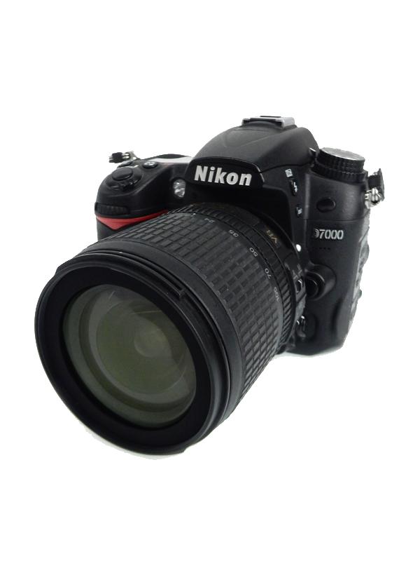 【Nikon】ニコン『D7000 18-105 VR レンズキット』ニコンFマウント 1690万画素 3インチ デジタル一眼レフカメラ 1週間保証【中古】b05e/h22AB