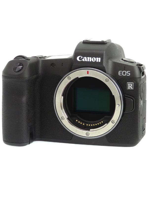 【Canon】キヤノン『EOS R ボディー』3030万画素 RFマウント フルサイズ SDXC 4K動画 ミラーレス一眼カメラ 1週間保証【中古】b06e/h16A