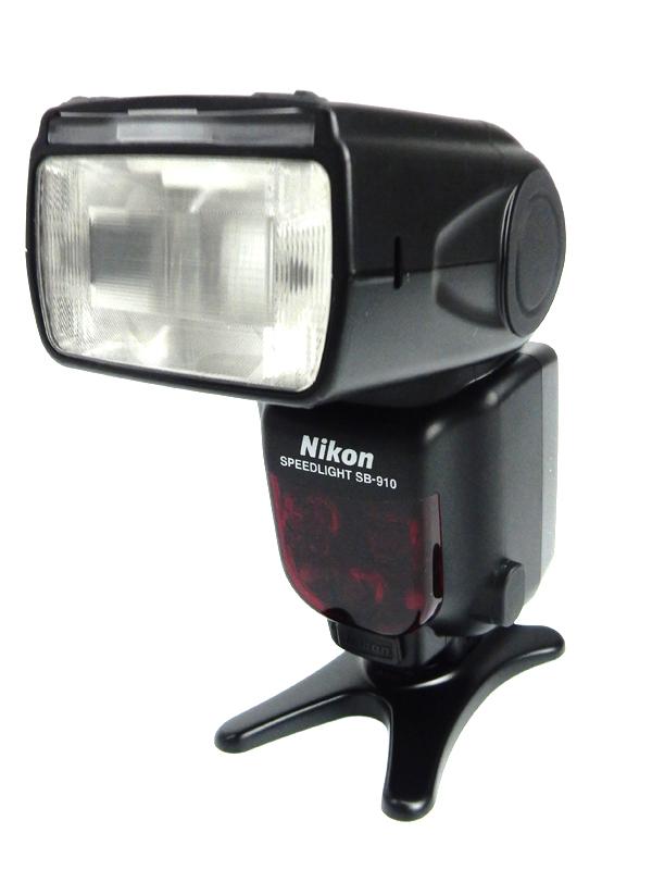 【Nikon】ニコン『スピードライト』2011年式 SB-910 FX/DX自動判別 オートパワーズーム マルチポイントAF対応 ストロボ 1週間保証【中古】b06e/h18AB