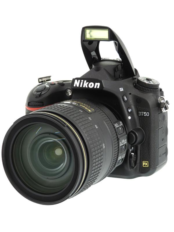 【Nikon】ニコン『D750 24-120 VR レンズキット』2432万画素 FXフォーマット SDXC フルHD動画 デジタル一眼レフカメラ 1週間保証【中古】b03e/h03A