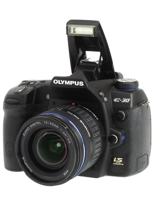 【OLYMPUS】オリンパス『E-30 + ZUIKO DIGITAL ED 14-42mm F3.5-5.6』1230万画素 フォーサーズ デジタル一眼レフカメラ 1週間保証【中古】b03e/h14AB