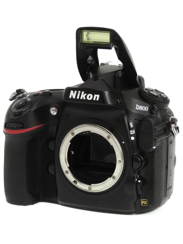 【Nikon】ニコン『D800ボディ』3630万画素 FXフォーマット SDXC/CF フルHD動画 デジタル一眼レフカメラ 1週間保証【中古】b06e/h15B