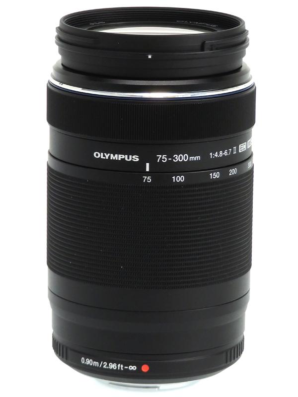 【OLYMPUS】オリンパス『M.ZUIKO DIGITAL ED 75-300mm F4.8-6.7 II』150-600mm相当 デジタル一眼カメラ用レンズ 1週間保証【中古】b06e/h16AB