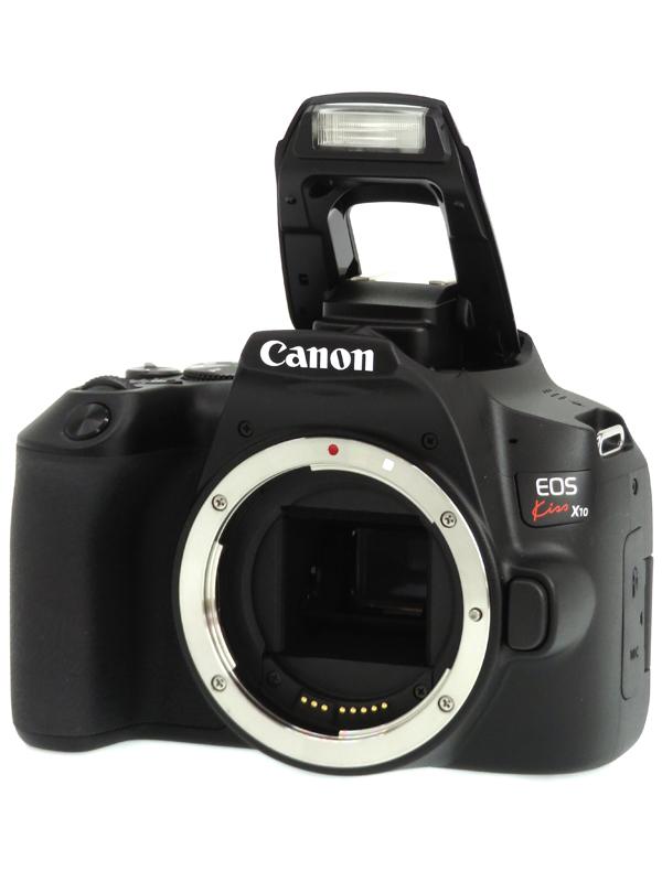 【Canon】キヤノン『EOS Kiss X10 ボディー』ブラック EF-S 2410万画素 SDXC 4K動画 デジタル一眼レフカメラ 1週間保証【中古】b06e/h16A