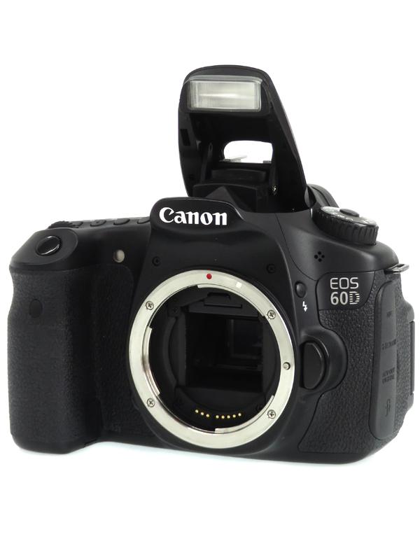 【Canon】キヤノン『EOS 60Dボディー』1800万画素 EF-S SDXC フルHD動画 デジタル一眼レフカメラ 1週間保証【中古】b06e/h18AB