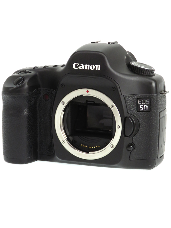 【Canon】キヤノン『EOS 5D ボディー』1280万画素 フルサイズ CFカード デジタル一眼レフカメラ 1週間保証【中古】b06e/h19B