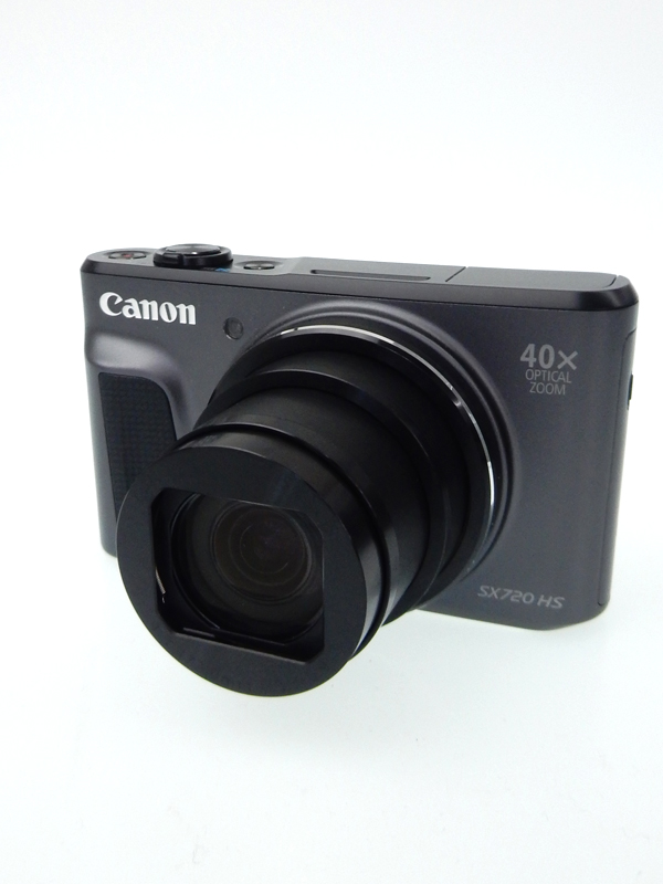 【Canon】キヤノン『PowerShot SX720 HS』PSSX720HS(BK) ブラック 2030万画素 光学40倍 Wi-Fi SDXC フルHD動画 コンパクトデジタルカメラ 1週間保証【中古】b05e/h10AB