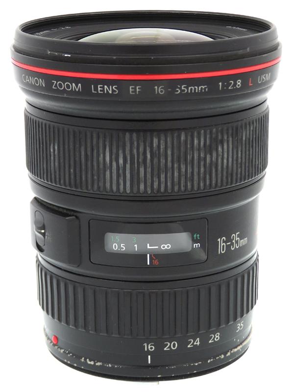 【Canon】キヤノン『EF16-35mm F2.8L USM』EF16-35L 超広角ズーム 一眼レフカメラ用レンズ 1週間保証【中古】b06e/h16BC