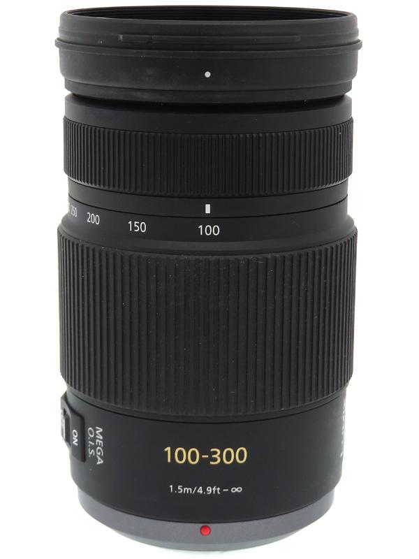 【Panasonic】パナソニック『LUMIX G VARIO 100-300mm F4.0-5.6 MEGA O.I.S.』H-FS100300 200-600mm相当 ミラーレス一眼用レンズ 1週間保証【中古】b06e/h16B