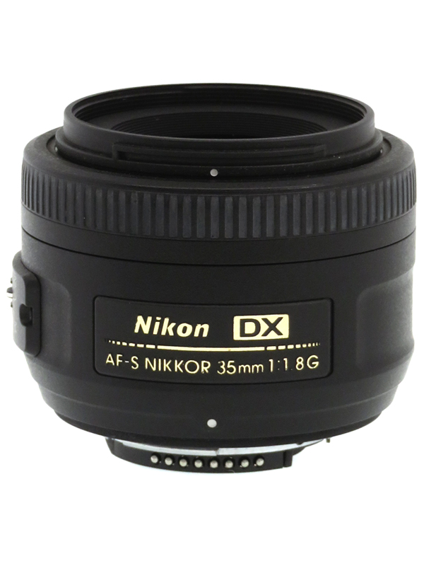 【Nikon】ニコン『AF-S DX NIKKOR 35mm f/1.8G』52.5mm相当 デジタル一眼レフカメラ用レンズ 1週間保証【中古】b03e/h02B