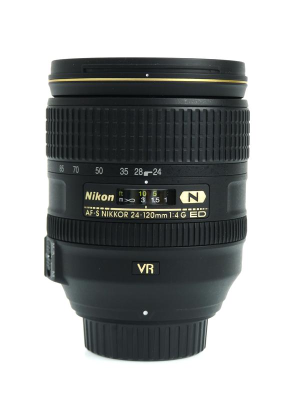 【Nikon】ニコン『AF-S NIKKOR 24-120mm f/4G ED VR』FXフォーマット 標準ズーム 一眼レフカメラ用レンズ 1週間保証【中古】b03e/h08AB