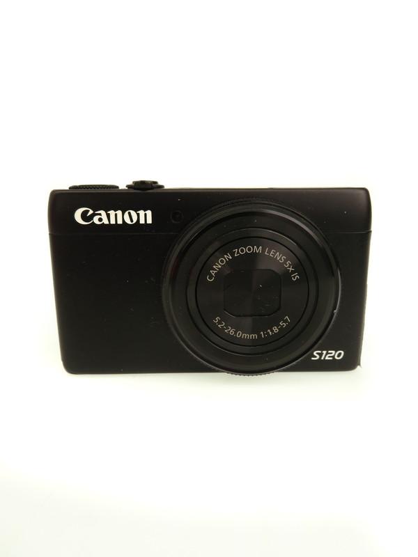 【Canon】キヤノン『PowerShot(パワーショット) S120』PS S120 2013年 コンパクトデジタルカメラ 1週間保証【中古】b03e/h20B