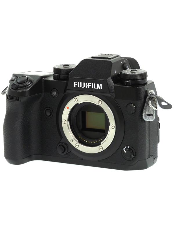 【FUJIFILM】富士フイルム『X-H1』2430万画素 APS-C SDXC 4K動画 ミラーレス一眼カメラ 1週間保証【中古】b03e/h06AB