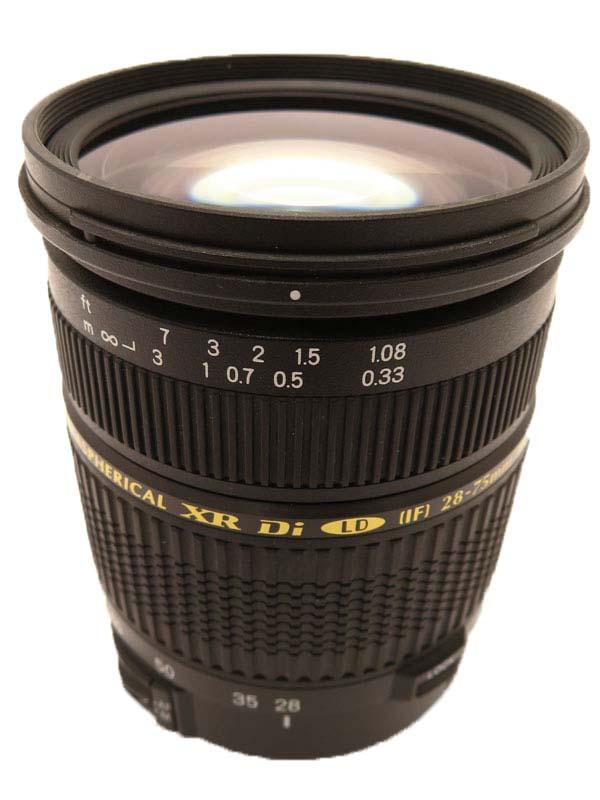 【TAMRON】タムロン『SP AF 28-75mm F/2.8 XR Di LD Aspherical[IF] MACRO』A09 キヤノン用 レンズ 1週間保証【中古】b06e/h09B
