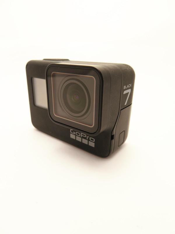 【GoPro】ゴープロ『HERO7 Black』CHDHX-701-FW 4K60ビデオ 12MP写真 防水 アクションカメラ 1週間保証【中古】b05e/h12AB