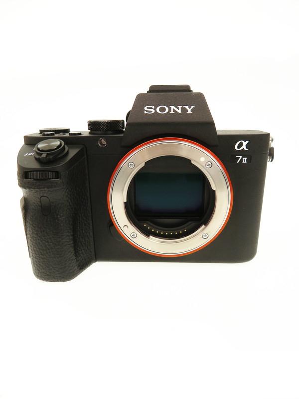 【SONY】ソニー『α7IIボディ』ILCE-7M2 2430万画素 2014年 フルサイズ Eマウント フルHD動画 ミラーレス一眼カメラ 1週間保証【中古】b06e/h17A