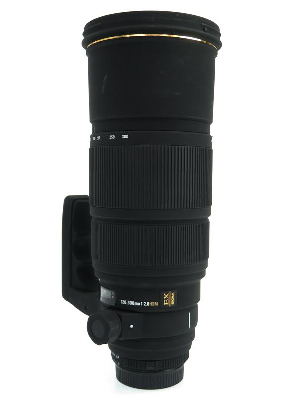 【SIGMA】シグマ『APO 120-300mm F2.8 EX DG HSM』ニコンFマウント デジタル一眼レフカメラ用レンズ 1週間保証【中古】b06e/h17B