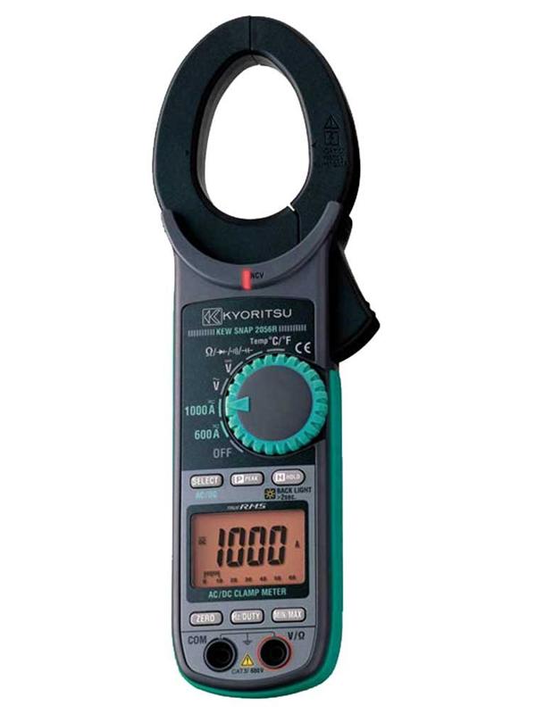 【KYORITSU】共立電気計器『交流電流・直流電流測定用クランプメータ』KEW 2056R 測定工具 1週間保証【新品】b00t/N