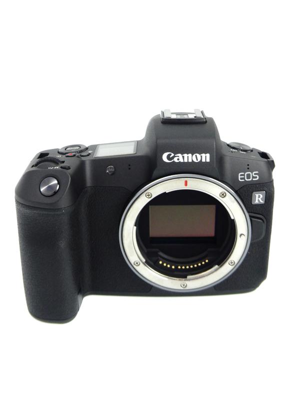 【Canon】キヤノン『EOS R ボディ』3030万画素 RFマウント フルサイズ SDXC 4K動画 ミラーレス一眼カメラ 1週間保証【中古】b06e/h16AB