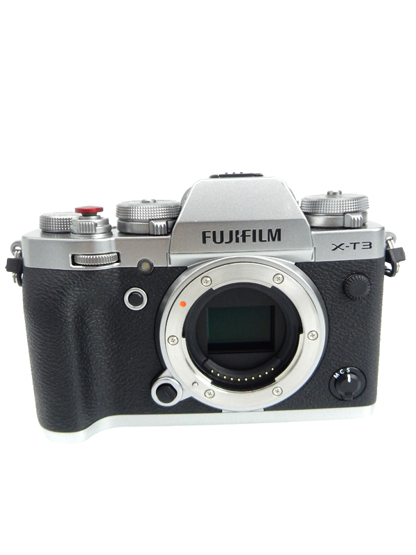 【FUJIFILM】富士フイルム『X-T3 ボディ』F X-T3-B ブラック ボディ 2610万画素 APS-C SDXC 4K動画 ミラーレス一眼カメラ 1週間保証【中古】b06e/h16AB